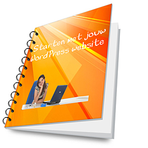 e-book Starten met jouw WordPress website