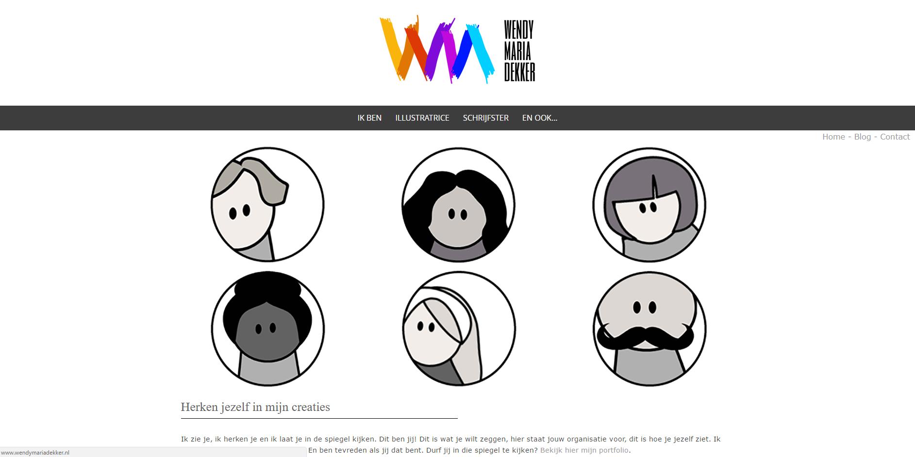Website voorbeelden van klanten metdaphne for Inspiratiehuis echt